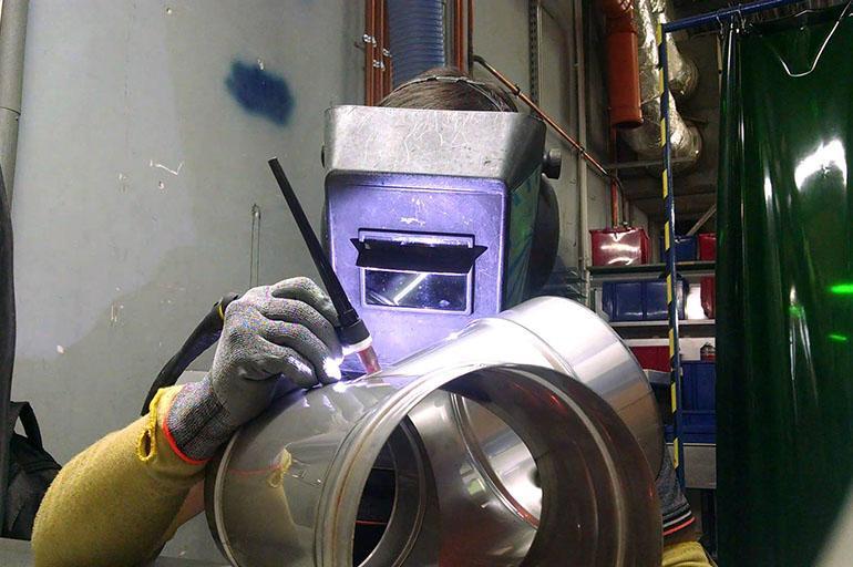 Аргонодуговая сварка стали
