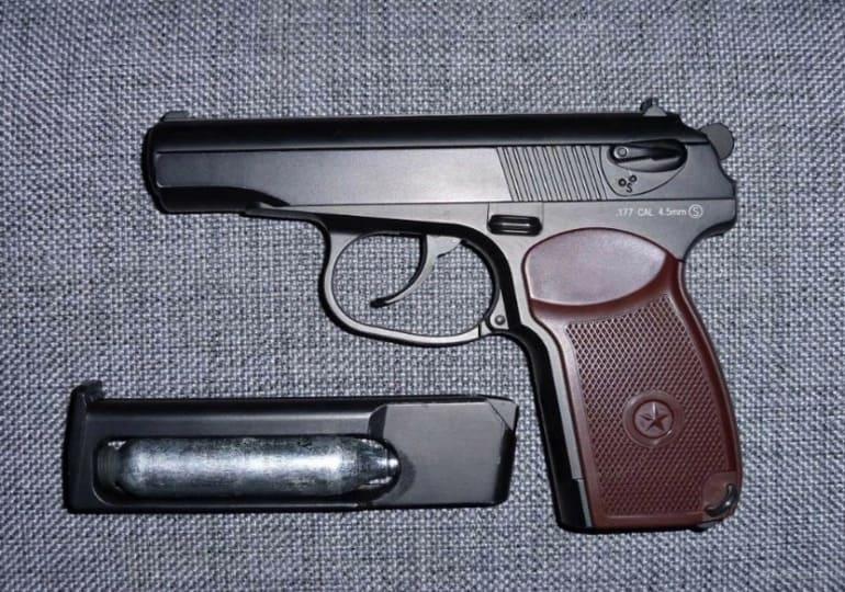 Макет пистолета пневматический