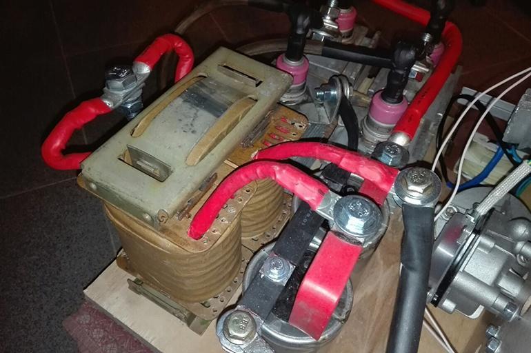 Аппарат для сварки из мотора