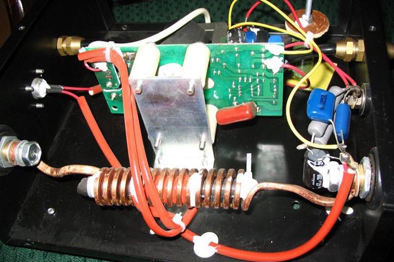 C дополнительными конденсаторами