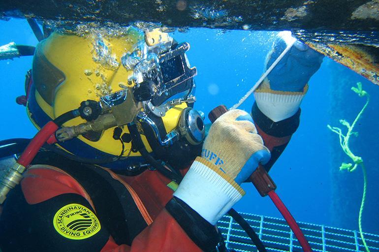 Особенности сварки под водой