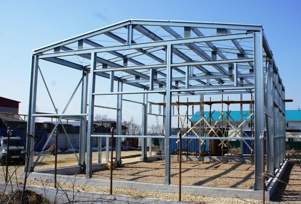 Сварная конструкция из стали