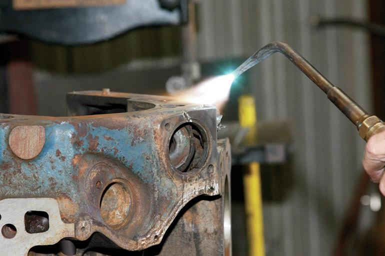 Сварка чугуна со сталью