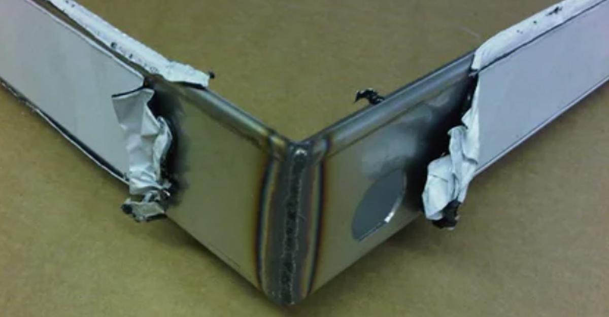Сварочный шов перлитной стали