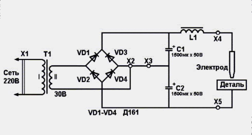 схема сварочного аппарата постоянного тока