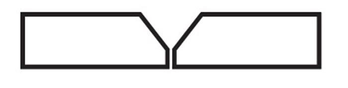 V-образный скос