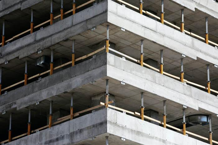 здание из железобетона